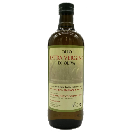 Extra Virgin Olive Oil, 100% Italian, bottled in Malcesine