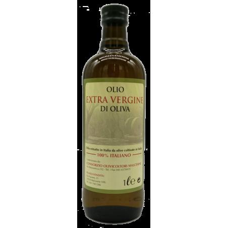 Extra Virgin Olive Oil, 100% Italian, bottled in Malcesine