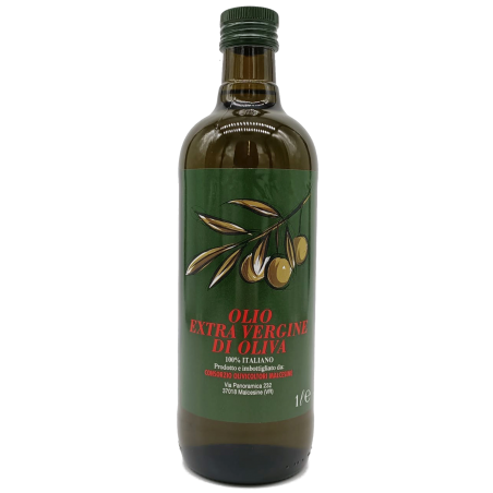 Extra Virgin Olive Oil, 100% Italian, Product and bottled in Malcesine