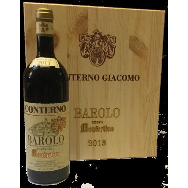 Monfortino, Riserva 2013, Barolo DOCG | wooden box 3 btg
