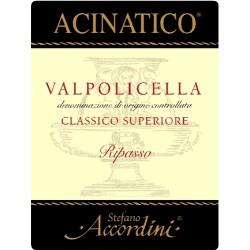 """Valpolicella D.O.C. Classico Superiore Ripasso """"Acinatico"""""""